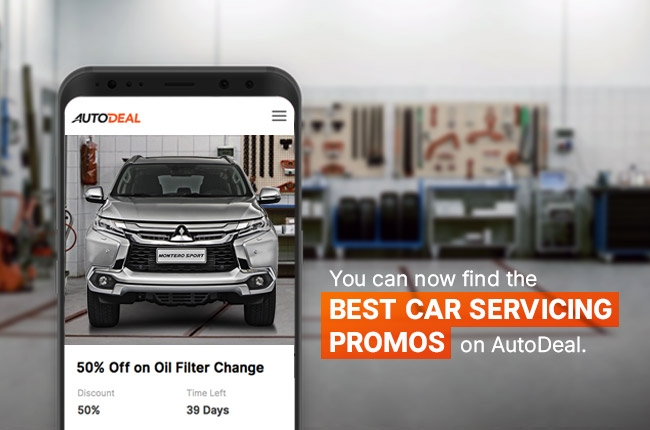 AutoDeal starts offering servicing promos of partner dealers