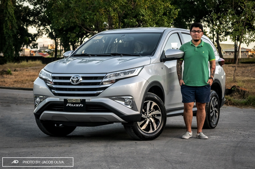 2018 rush 5-seater review philippines