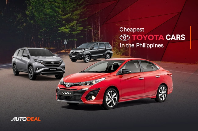 Cheapest Toyota cars in the Philippines