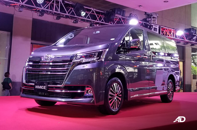 All-new 2020 Toyota Hiace Super Grandia Philippines