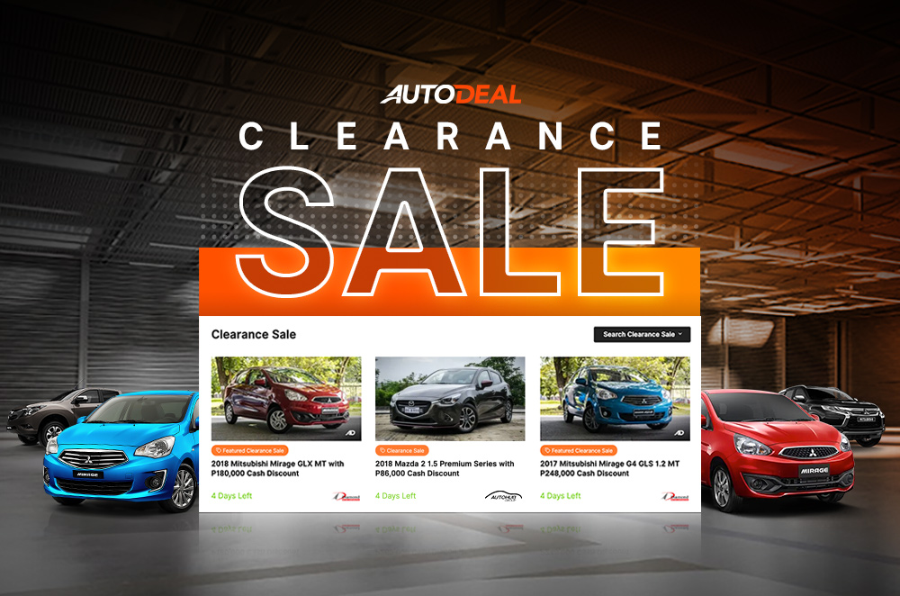 AutoDeal introduces its Clearance Sale Feature for consumers and dealers