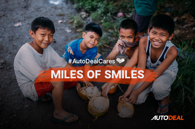 #AutoDealCares: Miles of Smiles