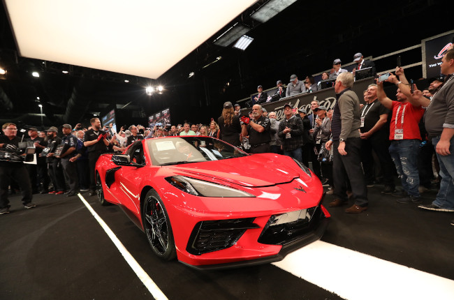 What makes this $3-million mid-engine Chevrolet Corvette so special?