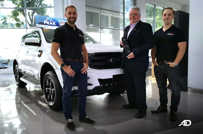 Ford Everest is AutoDeal's Online Buyers Choice Award for SUV in 2018