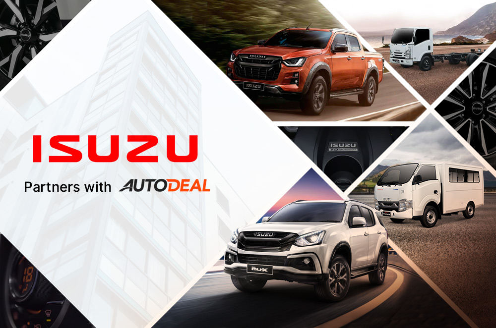 Isuzu partners with AutoDeal to bring SUVs and trucks for sale online