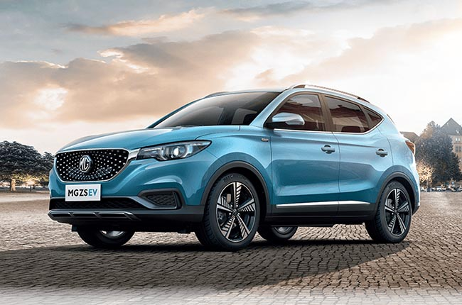 The MG ZS EV has been spotted in Malaysia ahead of its May launch