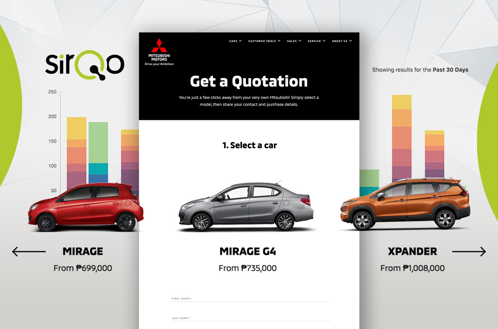 Mitsubishi Philippines partners with SirQo Lead-Management Technology
