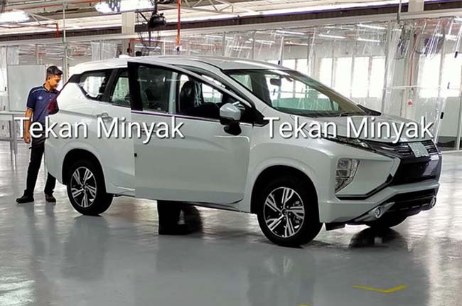 Facelifted 2020 Mitsubishi Xpander spotted in Malaysia