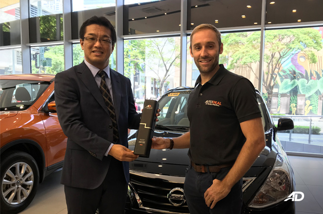 Nissan Almera is AutoDeal's Online Buyers Choice Award for Subcompact Car in 2018