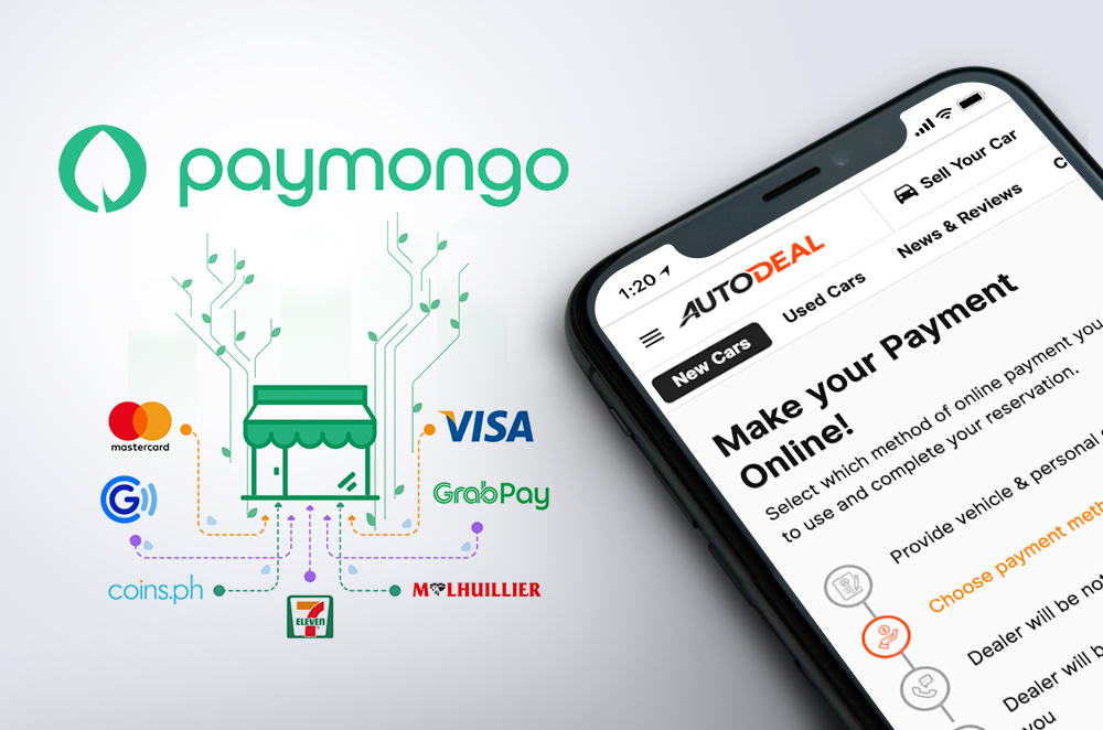 Autodeal and PayMongo team up to offer car buyers digital, contactless payment solutions