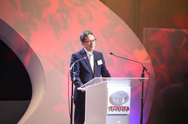 Toyota Motor Philippines President Satoru Suzuki bids farewell