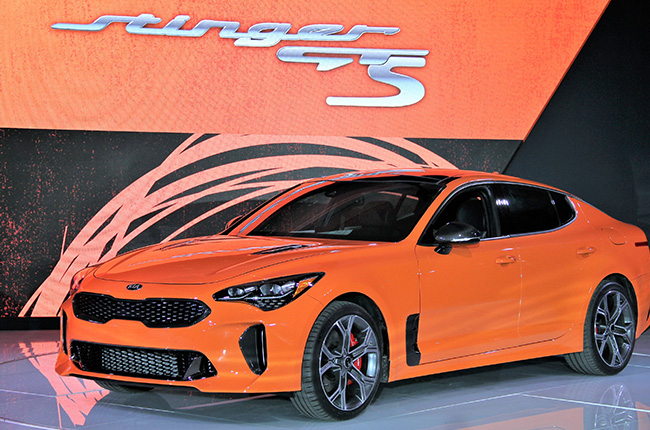 Kia Stinger GT gets limited edition GTS with Drift mode and AWD