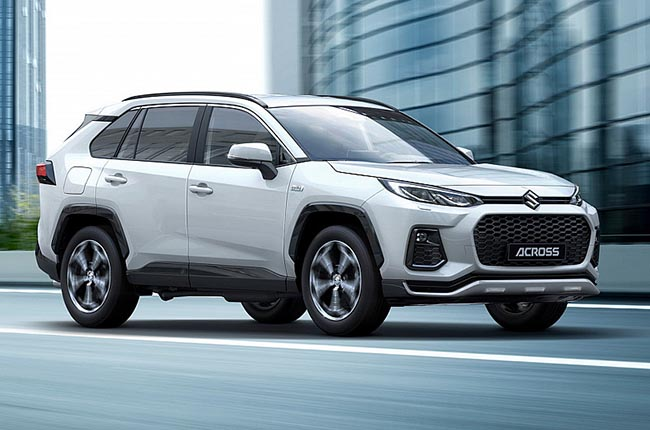 Suzuki Across is the red badged version of the RAV4 plug-in hybrid