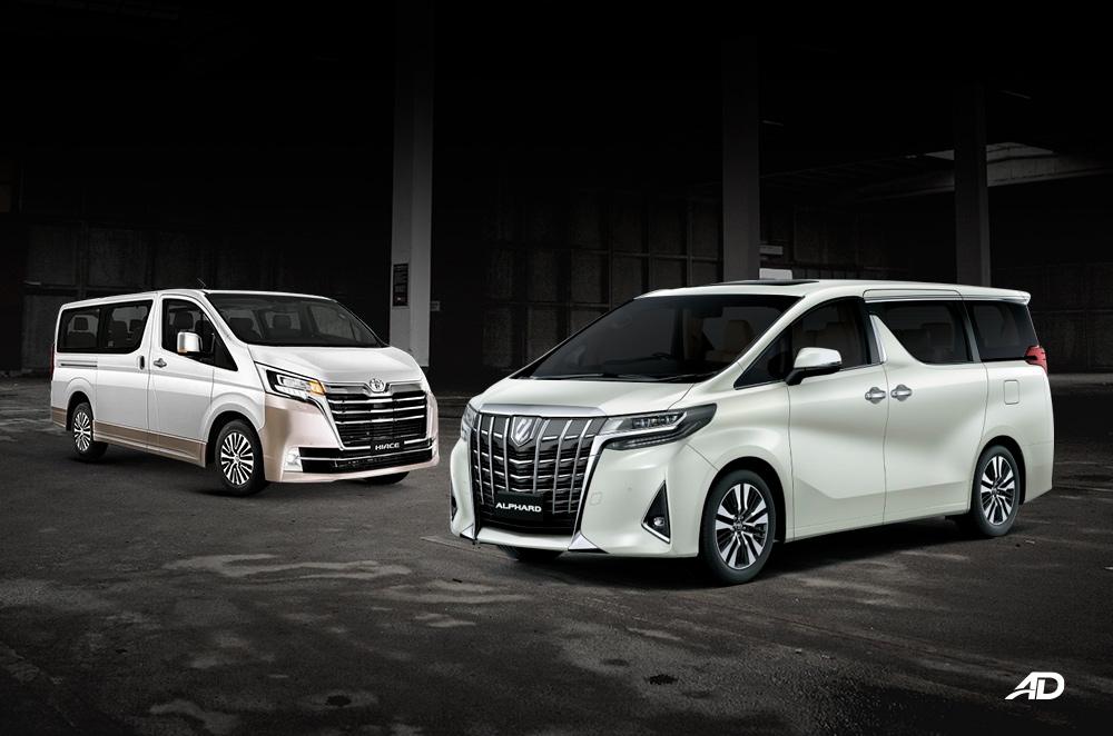 Toyota Alphard vs. Hiace Super Grandia: The luxury hauler comparison