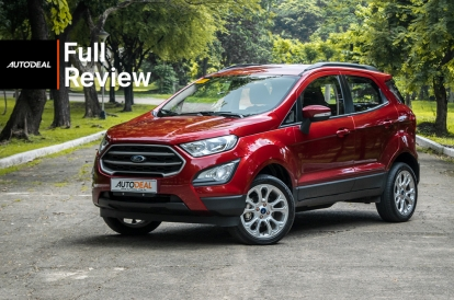 2020 Ford Ecosport Review.2019 Ford Ecosport 1 5 Trend Review Autodeal Philippines