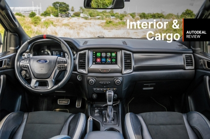 Ford Raptor Interior >> 2019 Ford Ranger Raptor Interior Cargo Space Review