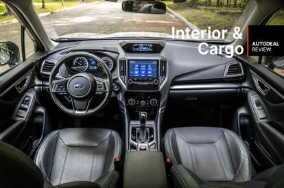 Subaru Forester Cargo Space >> 2019 Subaru Forester Interior Cargo Space Review
