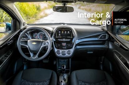2019 Chevrolet Spark Interior Cargo Space Review