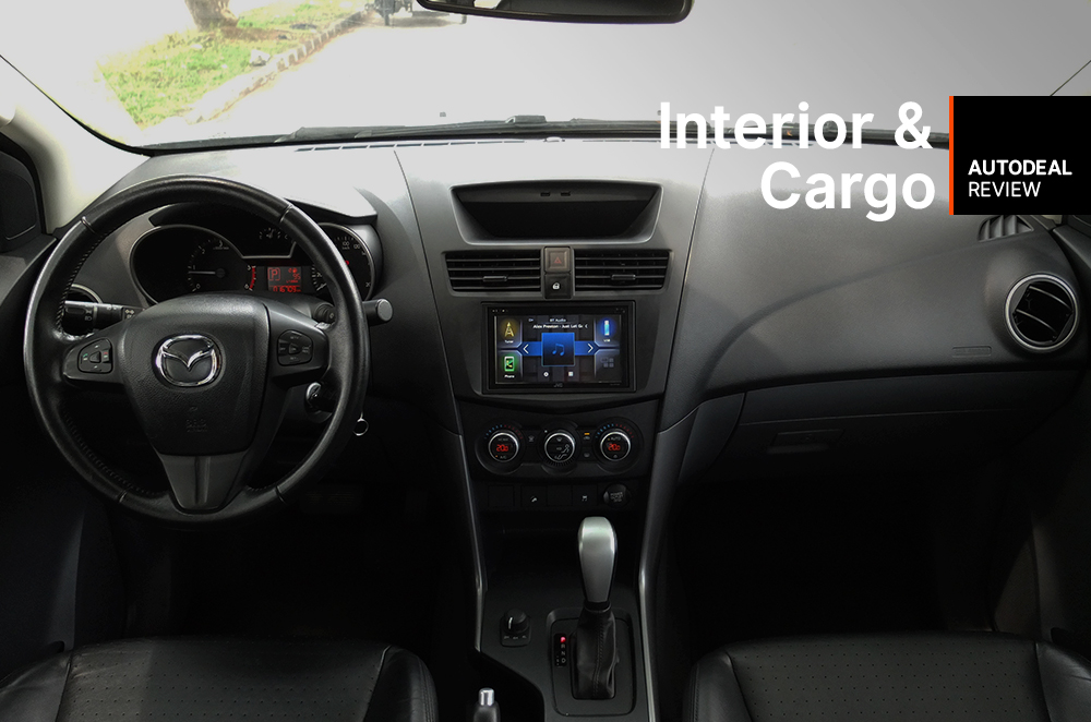 2018 Mazda BT-50 Interior and Cargo Space Review