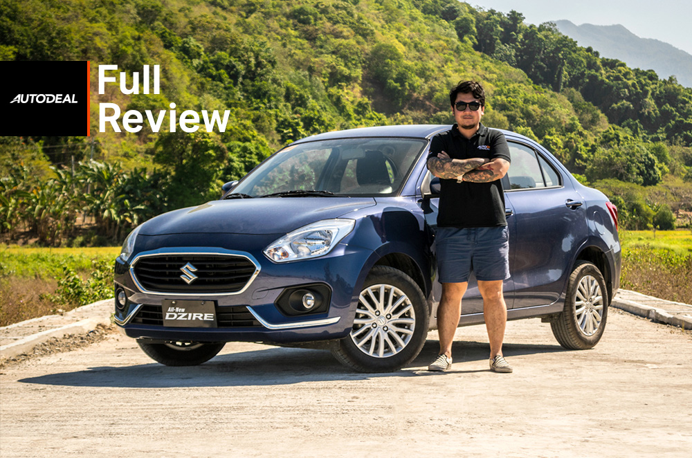 2018 Suzuki Dzire Review Philippines
