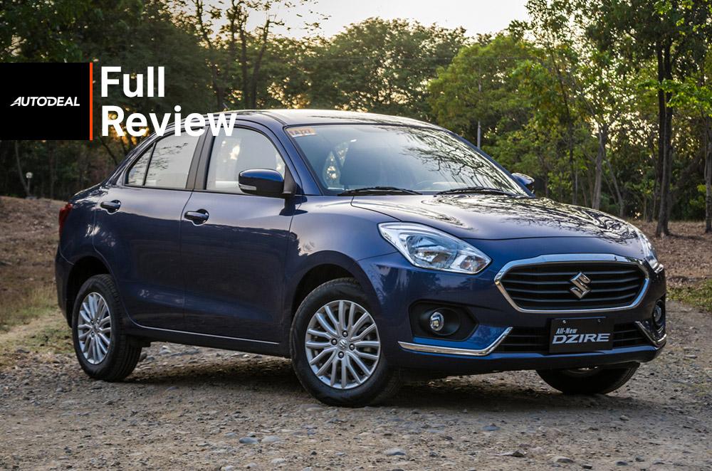 2018 Suzuki Dzire Review Philippines