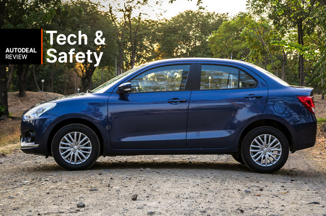 2018 Suzuki Dzire Technology and Safety