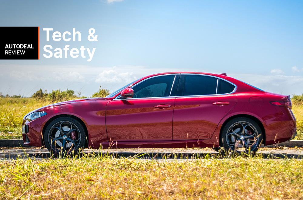 2019 Alfa Romeo Giulia Technology & Safety