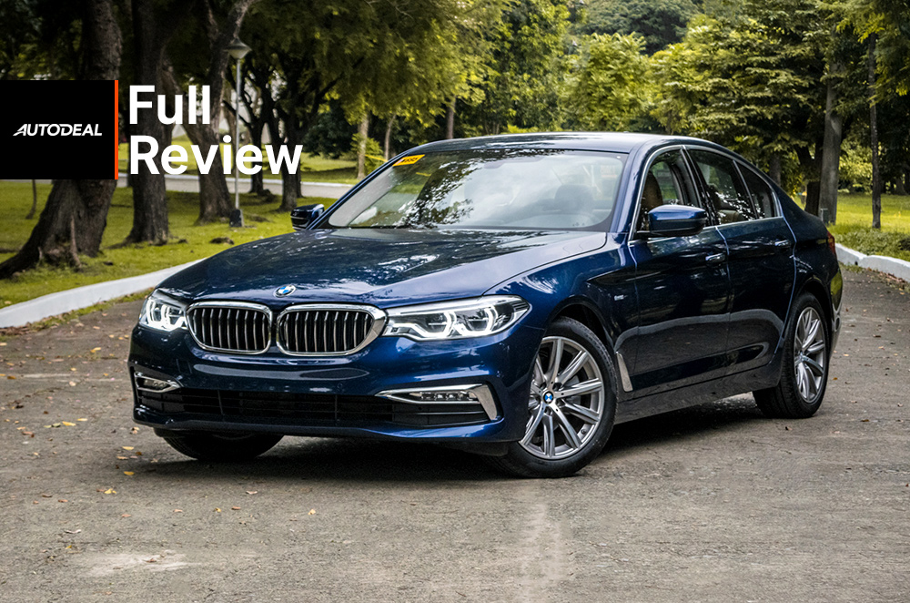 2019 BMW 5 Series 520i Review road test philippines