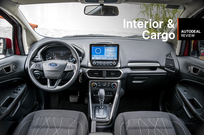 2019 Ford Ecosport 1.5 Interior & Cargo Space