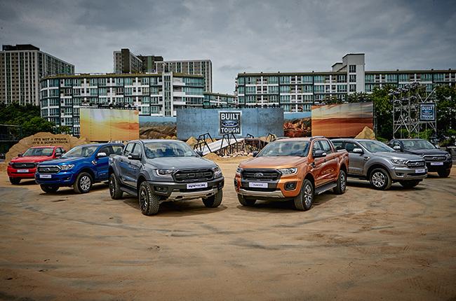 2019 Ford Ranger lineup