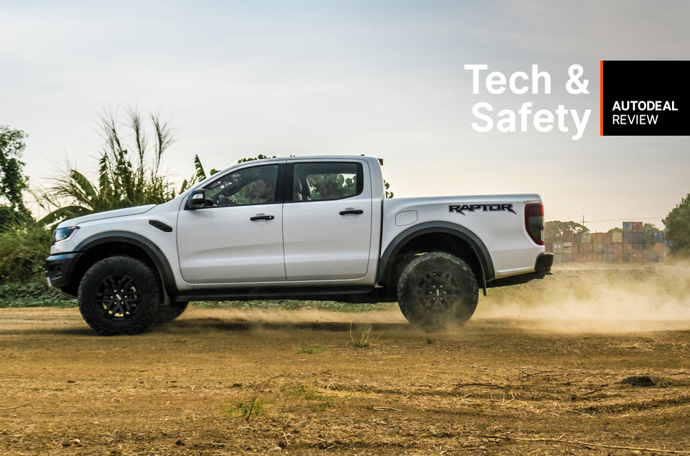 2019 Ford Ranger Raptor Technology & Safety