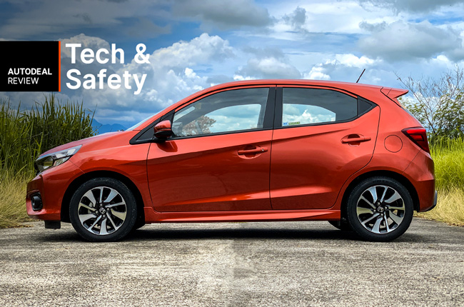 2019 Honda Brio Technology & Safety