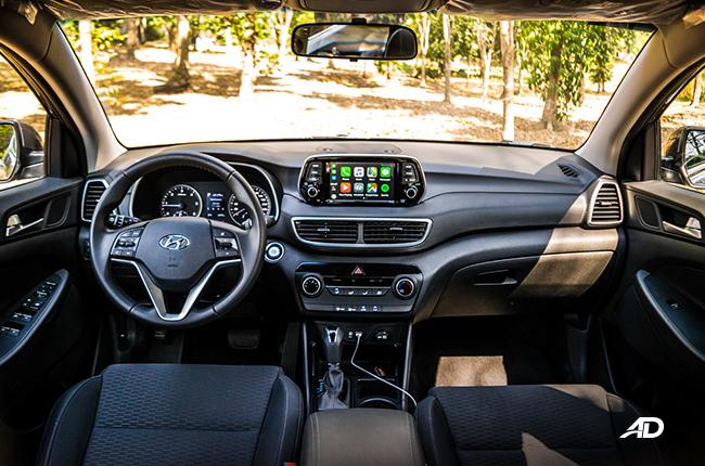 2019 Hyundai Tucson Interior and Cargo Space