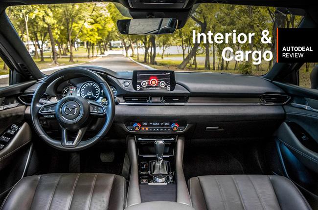 2019 Mazda6 Sedan Diesel Interior & Cargo Space