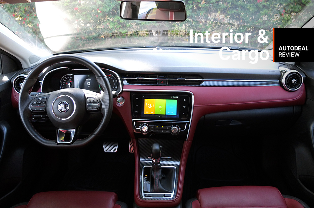 2019 MG 6 Trophy Interior and Cargo Space Review