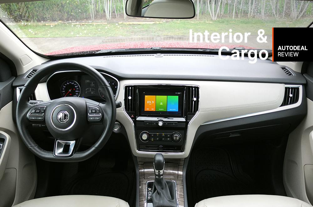 2019 MG RX5 Interior & Cargo Space