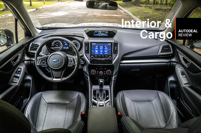 2019 Subaru Forester Interior & Cargo Space