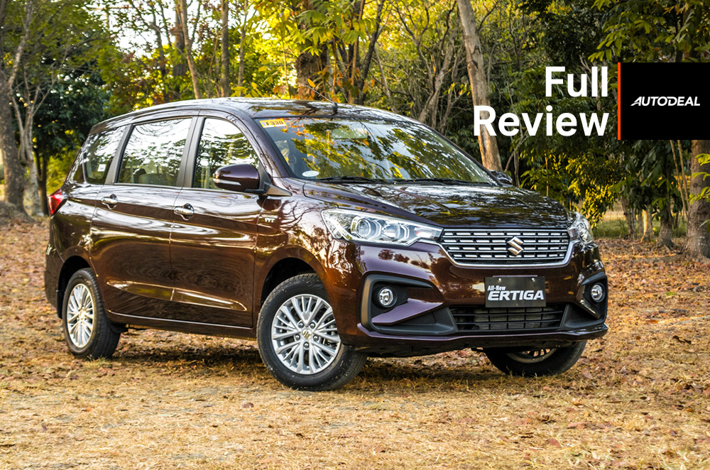 2019 Suzuki Ertiga Review Philippines