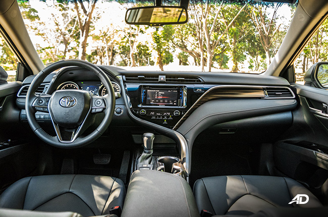 2019 Toyota Camry Interior and Cargo Space