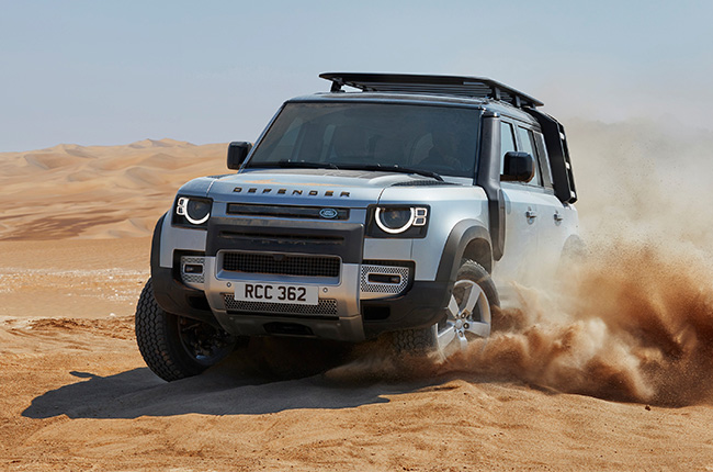2020 Land Rover Defender launch