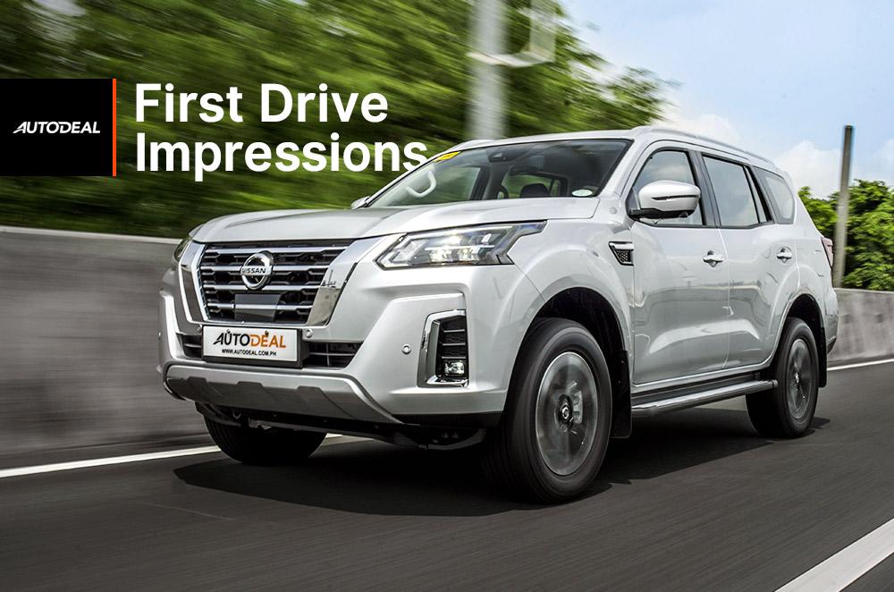 2022 Nissan Terra First Drive Impressions