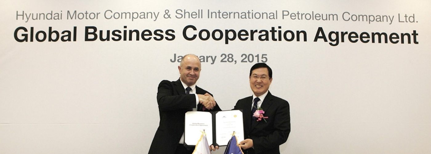 Hyundai partners with Royal Dutch Shell for global lubricants business