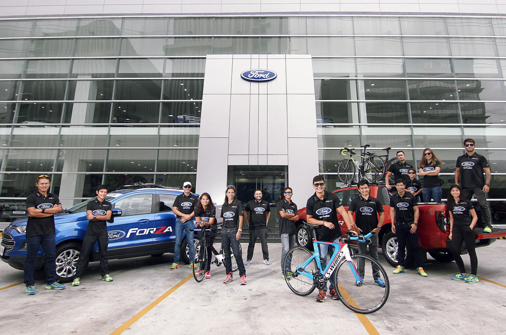 Ford gears up for triathlon with the Ford Forza team