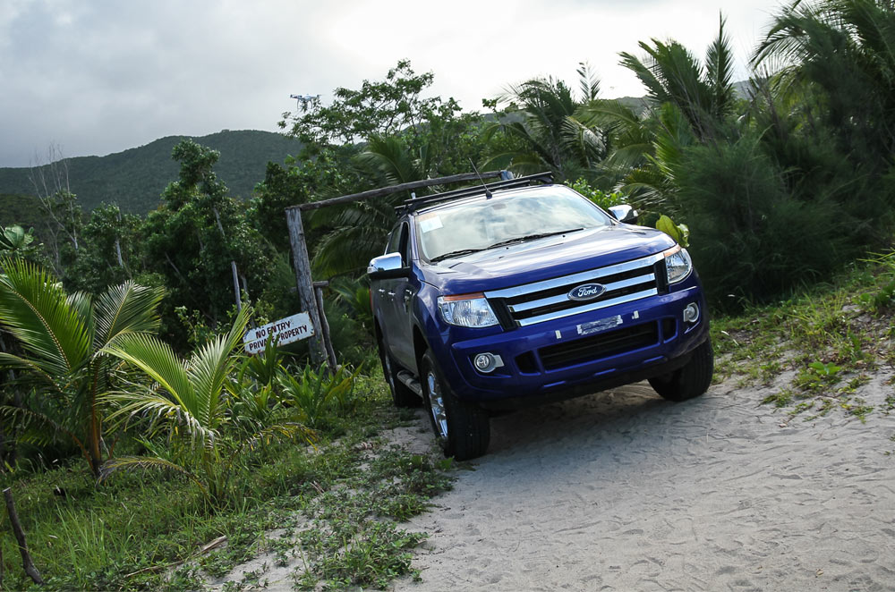 Going on an epic 859 km joyride with the Ford Ranger