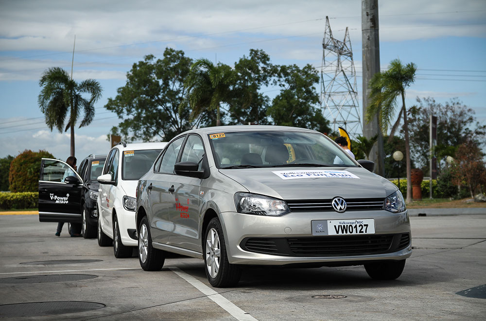 VW proves how fuel-efficient the Polo, Touran, and Tiguan with TDI really are