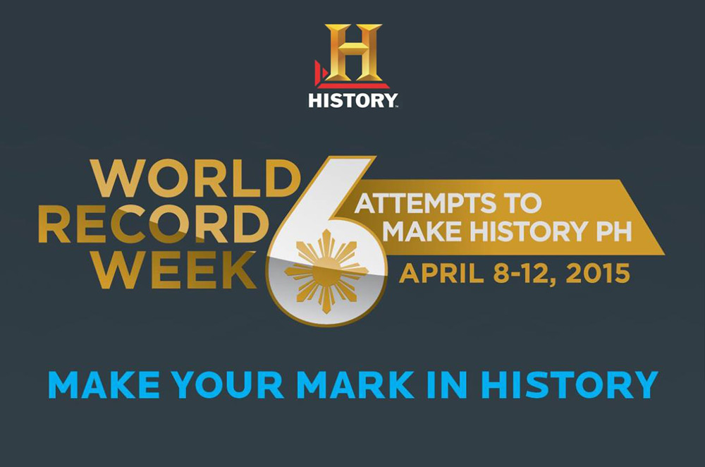 AutoDeal.com.ph is helping the History Channel set 6 world records for the Philippines