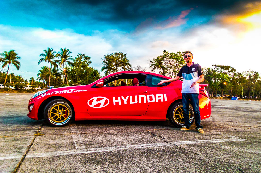 Gio Rodriguez leads Rd1 of the 2015 Hyundai Lateral Drift Championship