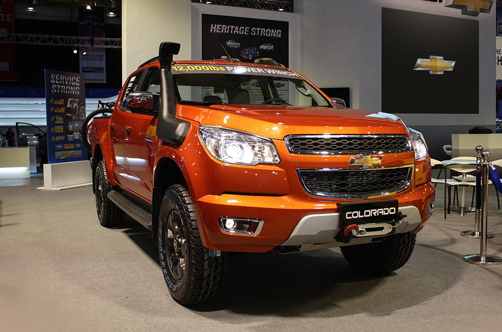 MIAS 2015: Chevrolet expands Colorado line-up with the 4x4 Tracker Edition