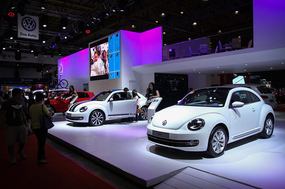MIAS 2015: Volkswagen's line-up flaunts the best of German engineering