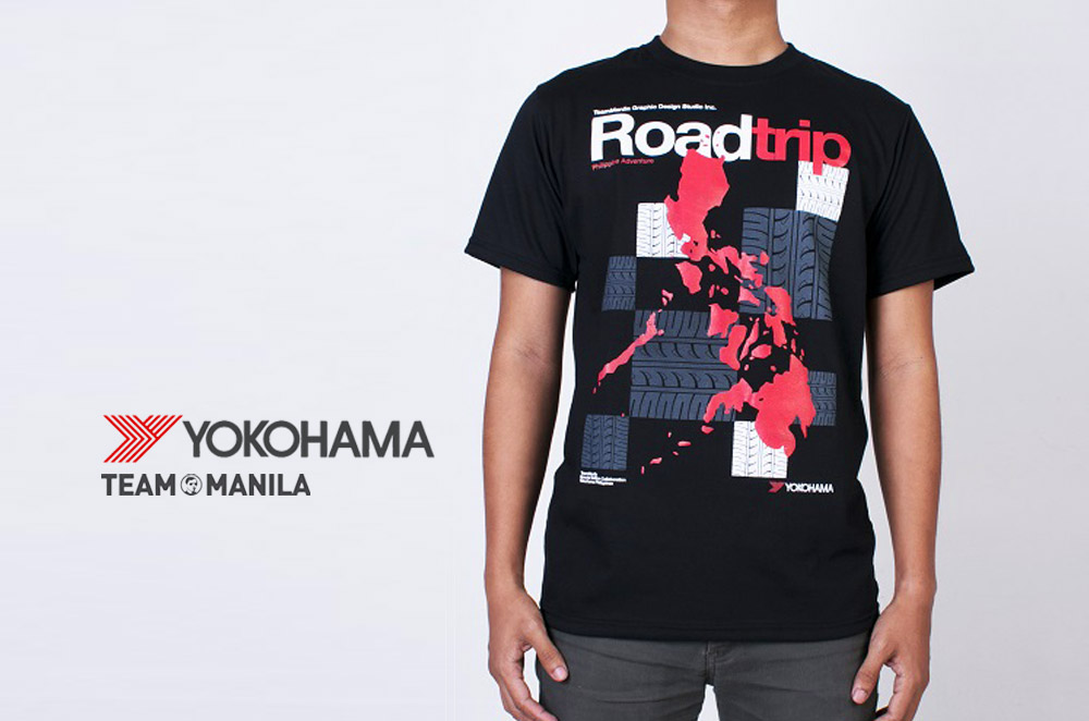 Yokohama offers FREE TeamManila T-shirts with every pair of tires